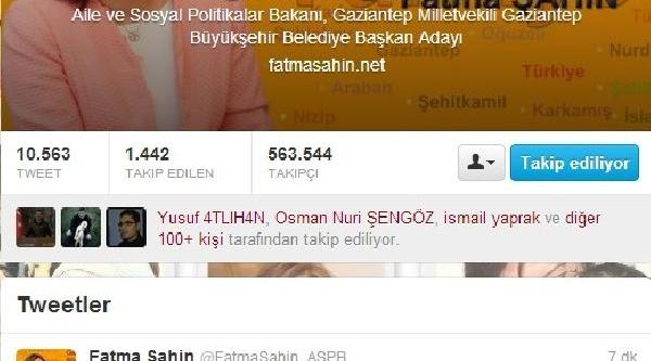 Fatma Şahin Twitter'dan 'helallik' Istedi