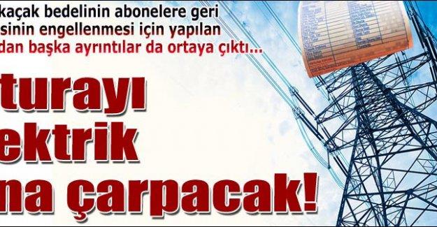 FATURAYI ELEKTRİK ÇARPACAK!