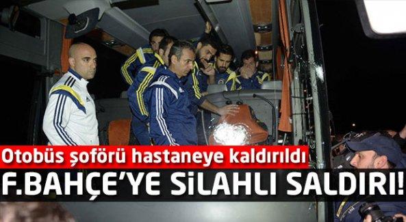 F.Bahçe'ye silahlı saldırı! Trabzon'da