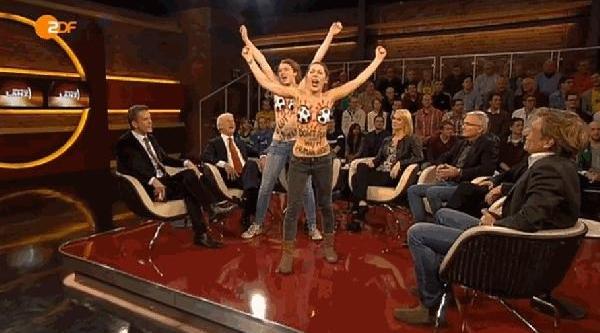 Femen Grubu: 'mafya Fifa!..
