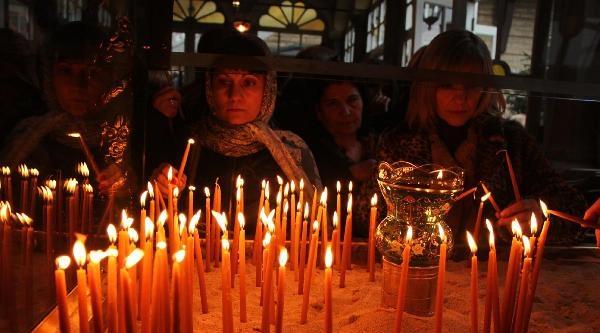 Fener Patrikhanesi'nde, Ortodoksluk Bayramı Ayini