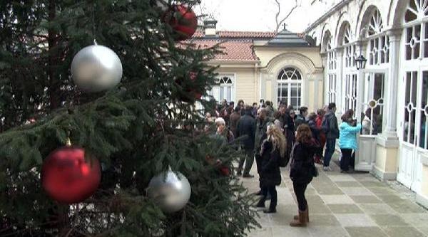 Fener Rum Patrikhanesi'nde Noel Ayini