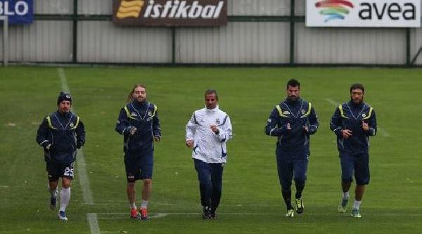 Fenerbahçe Beşiktaş Maçinin Hazirliklarina Başladi