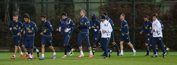 Fenerbahçe, Bursaspor Maçının Hazırlıklarına Başladı