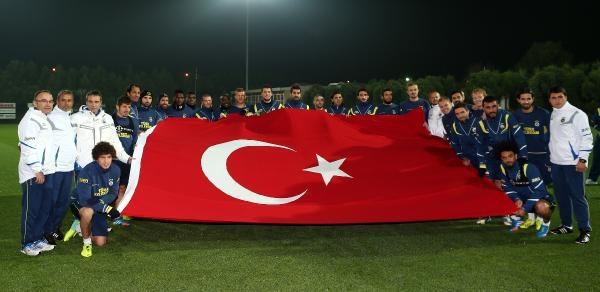 Fenerbahçe, Cumhuriyet Bayrami'ni Kutladi