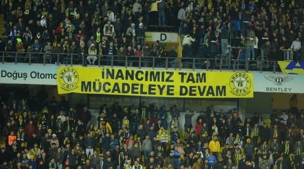 Fenerbahçe - Fethiyespor Maçinin Fotoğraflari