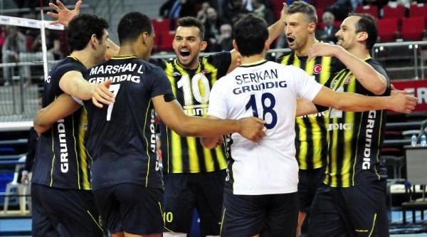 Fenerbahçe Grundig, 2014 Cev Challenge Kupasi'nda 16'li Finallere Kaldi