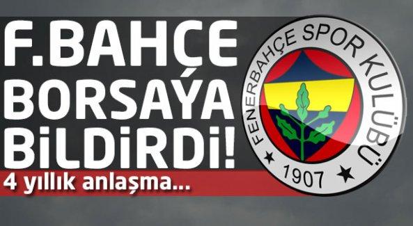 Fenerbahçe KAP'a bildirdi! İşte ödenecek bonservis bedeli...
