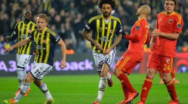 Fenerbahçe - Kayserispor Maçinin Ikinci Yari Fotoğraflari