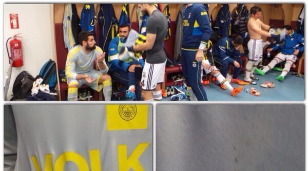 Fenerbahçe Kulübü, Volkan Demirel'in Yanan Formasını Gösterdi