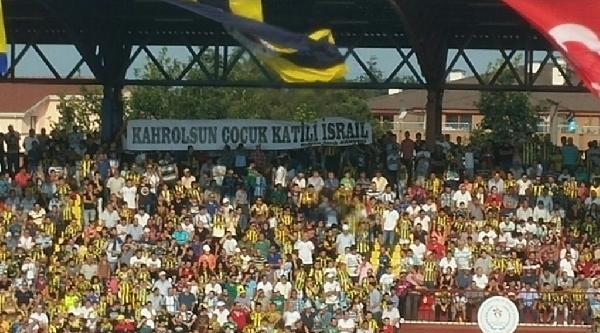 Fenerbahçe-sepahan Karşılaşmasında İsrail Pankartı