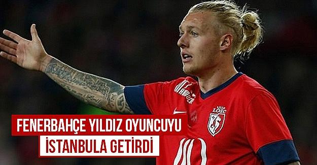 Fenerbahçe Simon Kjaer'i İstanbul'a getirdi