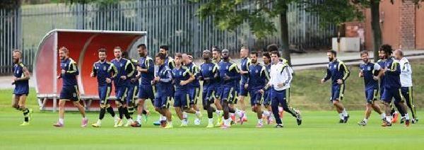 Fenerbahçe Soma İçin Hazırlıklarını Sürdürüyor