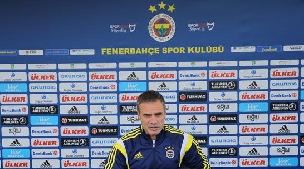 Fenerbahçe Teknik Direktörü Yanal: