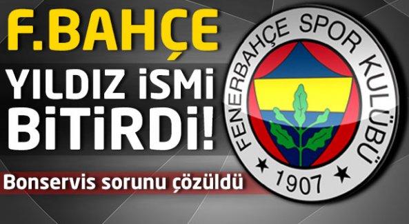 Fenerbahçe yıldız ismi bitirdi!