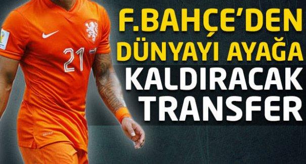 Fenerbahçe'den dünyayı ayağa kaldıracak transfer!