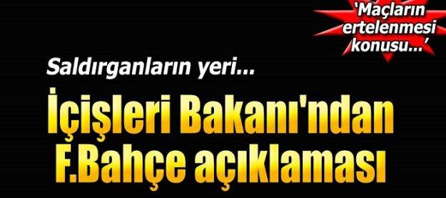 Fenerbahçe'ye saldırıda son gelişmeler