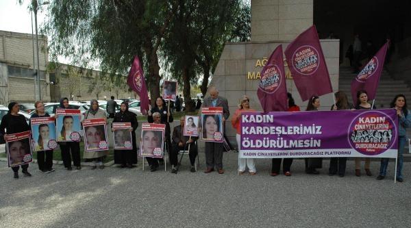 Ferdane Çöl Davası Öncesi Kadınlardan Protesto