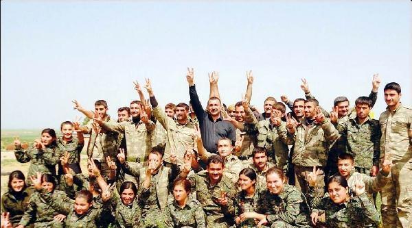 Ferhat Tunç, Suriye'deki Kürt Bölgesi'nde