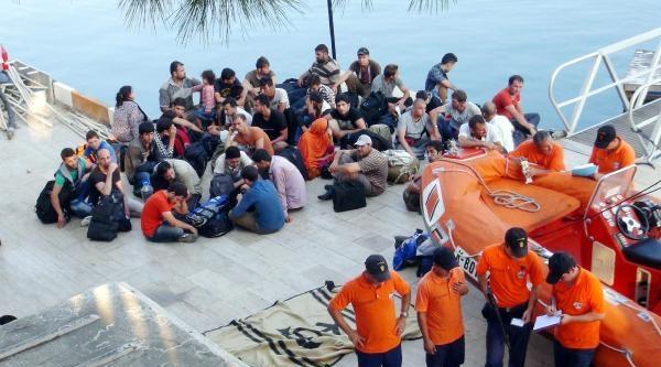 Fethiye'de 155 Kaçak Yakalandı