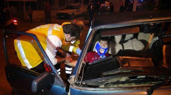 Fethiye'de 2 Trafik Kazasinda 7 Kişi Yaralandi