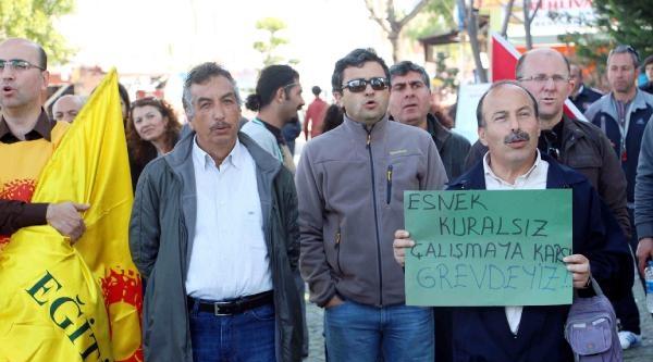 Fethiye'de Meb Yasa Tasarısı Protesto Edildi