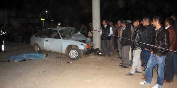 Fethiye'de Trafik Kazasi: 1 Ölü
