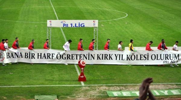 Fethiyespor Başkani Öztürk: Siyasi Mesaj Vermedik