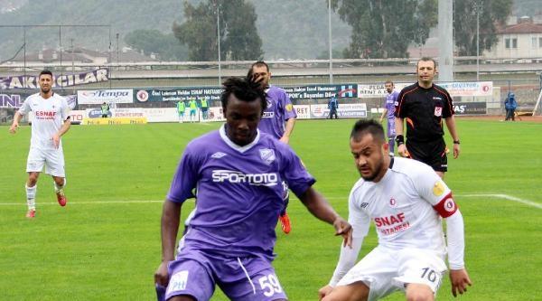 Fethiyespor - Orduspor: 2-2