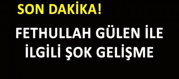Fethullah Gülen dosyası ayrıldı!