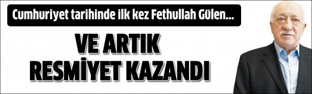 Fethullah Gülen örgüt yöneticisi olarak kayıtlara geçti