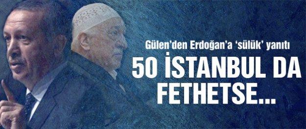 Fethullah Gülen'den Erdoğan'a sülük yanıtı