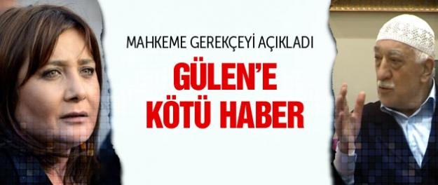 Fethullah Gülen'e Sevilay Yükselir şoku