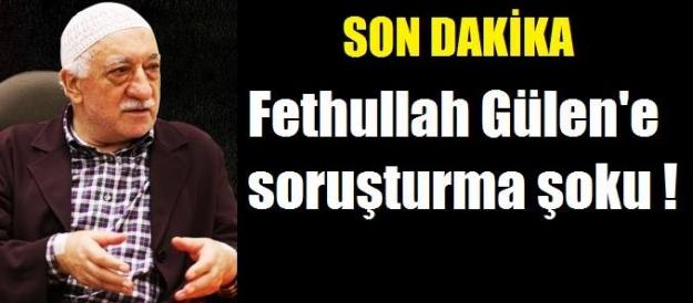 Fethullah Gülen'e suç duyurusu!