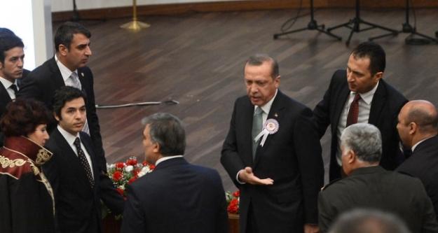 Feyzioğlu ile Tartışan Erdoğan, Abdullah Gül'e Sitem Etti...