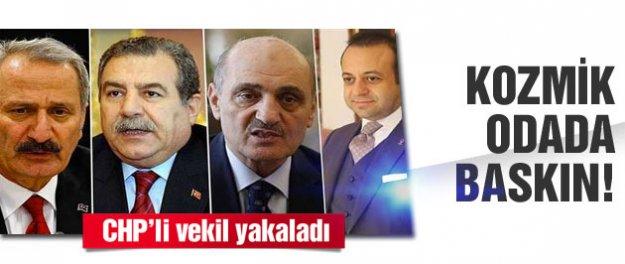 Fezlekeleri inceleyen müfettişler CHP'li vekile yakalandı
