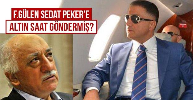 F.Gülen Sedat Peker'e altın saat göndermiş...