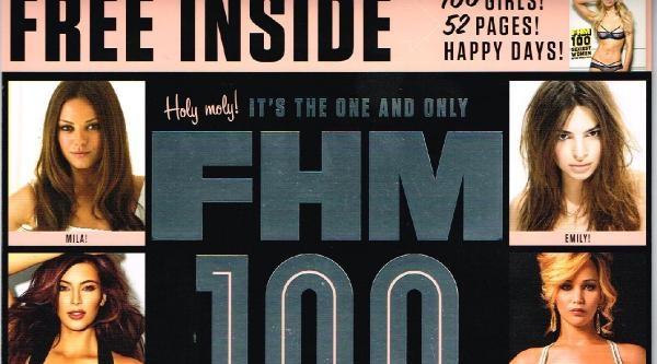 Fhm Dergisi 2014 Yılının En Seksi 100 Kadını Seçti