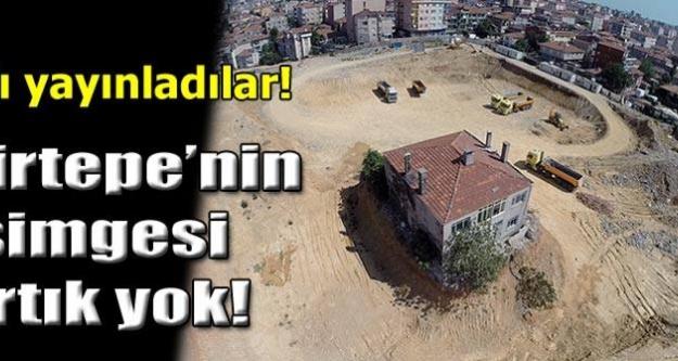 Fikirtepe'deki o ev yıkıldı