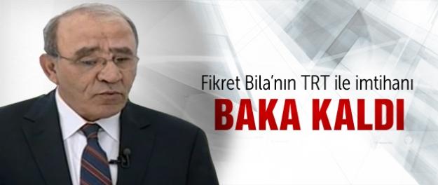 Fikret Bila'nın TRT'deki zor sınavı!