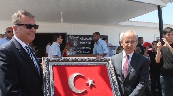 Fikret Orman, Iğdir'da Beşiktaş İlk Okullarını Açtı