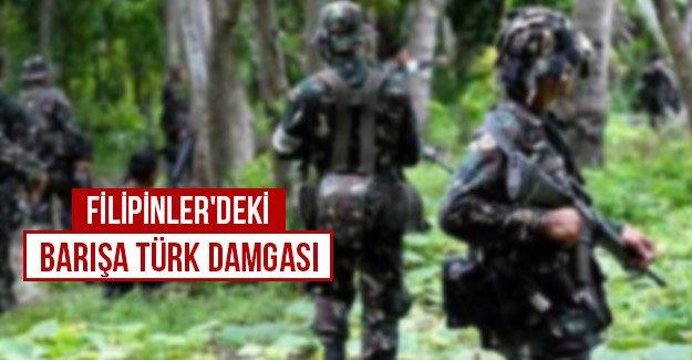 Filipinler'deki barışa Türk damgası