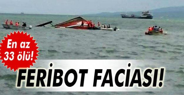 Filipinler'de gemi alabora oldu: En az 33 ölü