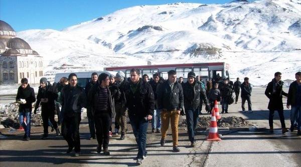 Filistin Ve Suriyeli Öğrenciler Erciyes'i Gezdi