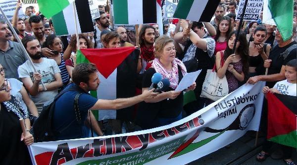 Filistin'e Destek, İsrail'e Boykot Çağrisi