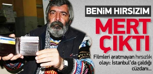 Filmleri aratmayana hırsızlık olayı: İstanbul'da çaldığı cüzdanı...