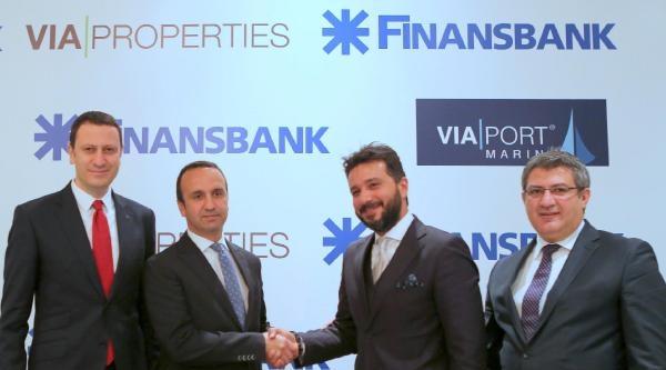 Finansbank İle Via Propertıes'den 125 Milyon Euro'luk Anlaşma