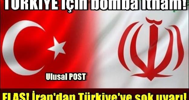 FLAŞ! İran'dan Türkiye'ye şok uyarı!