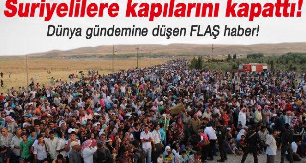 FLAŞ! Lübnan, Suriyeli mültecilere sınırı kapattı