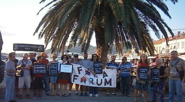 Foça Forum, Gazze'ye Sessiz Kalmadı